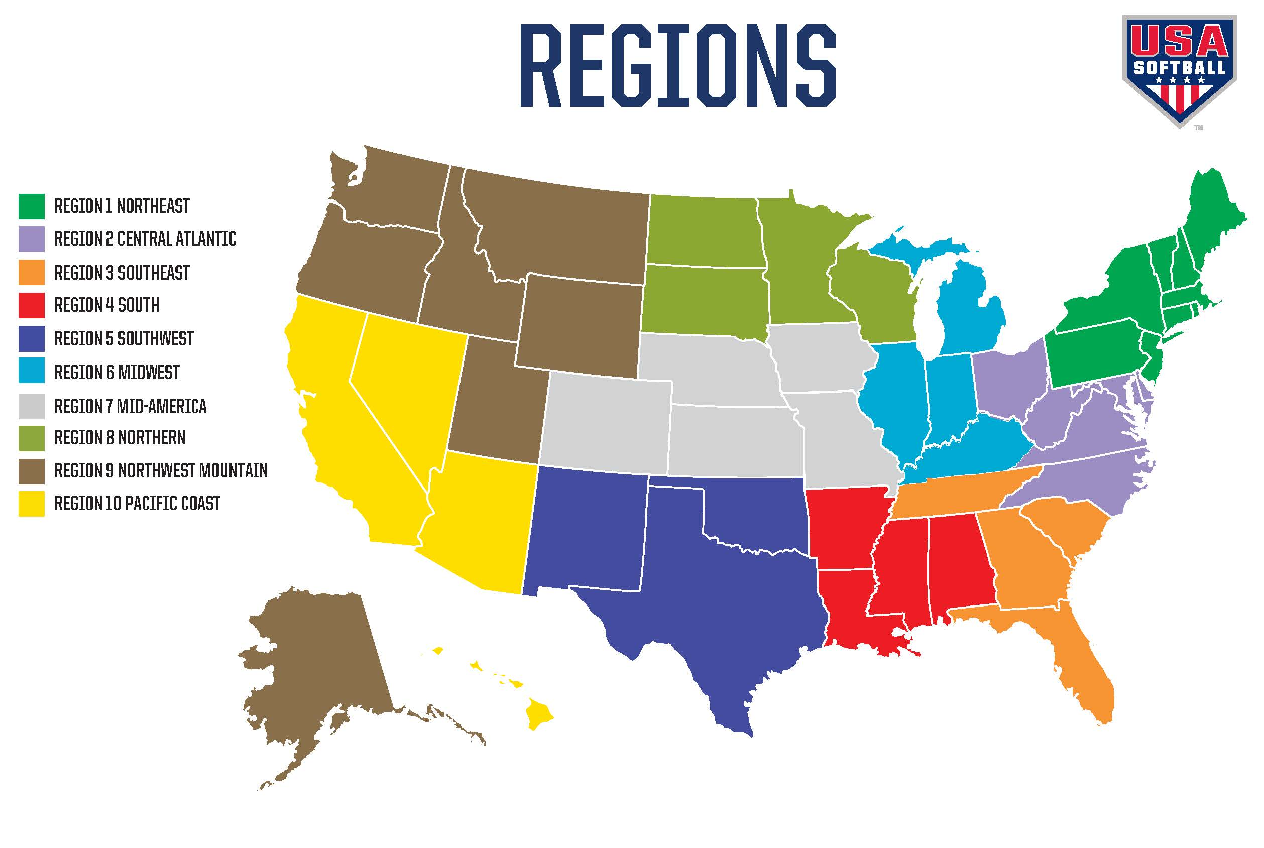 Looking For An Independent School That Specializes In Teaching - Us south region map